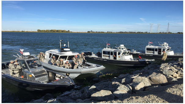 Photo of Multiple Marine Patrol Boats